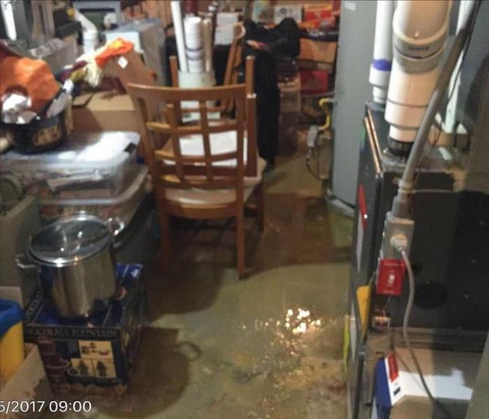 Water Damage in Manalapan, NJ Before