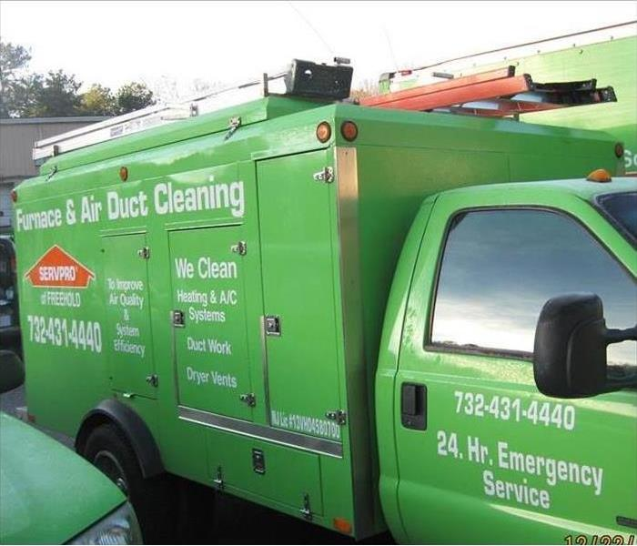 Cleaning Time for A SERVPRO Duct Cleaning